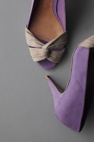 torsade peep-toe shoes from BHLDN