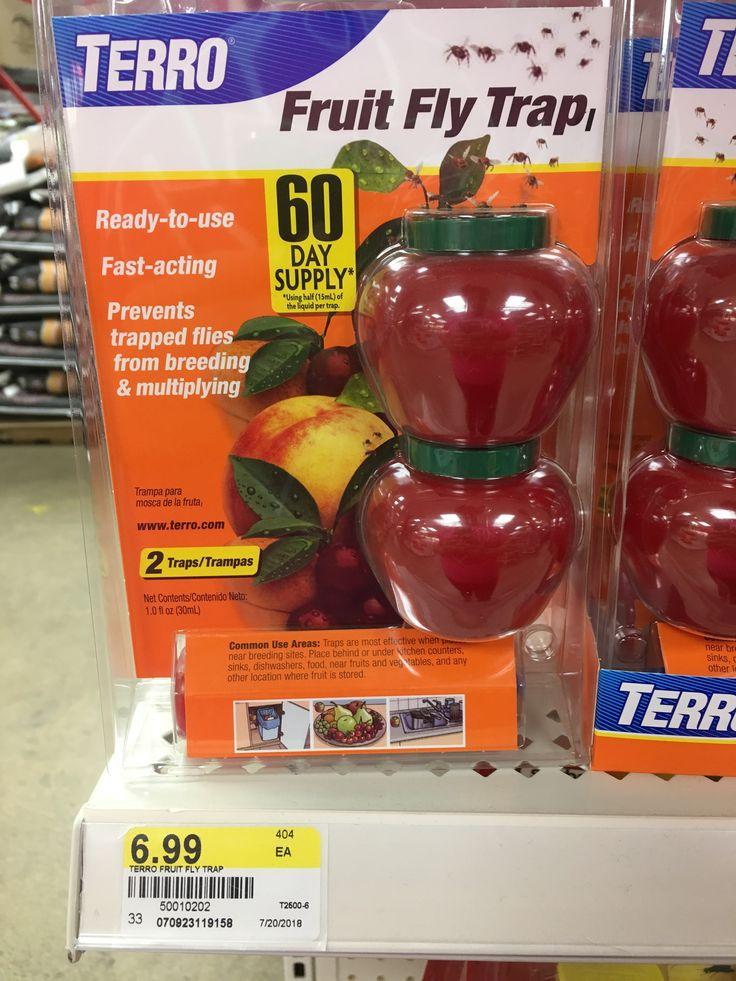 terro fruit fly traps 2 ct walmartcom