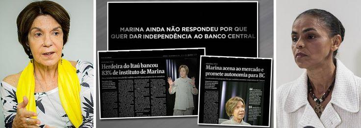 PT explora ao máximo ligação de Marina com Neca | Brasil 24/7