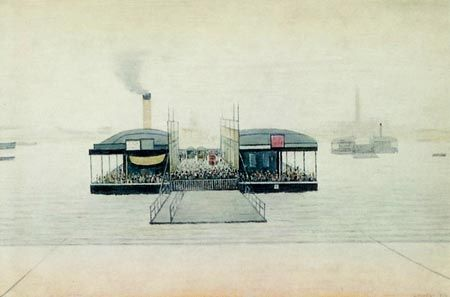 Southampton - Piers, Docks and Ferries - L S Lowrie