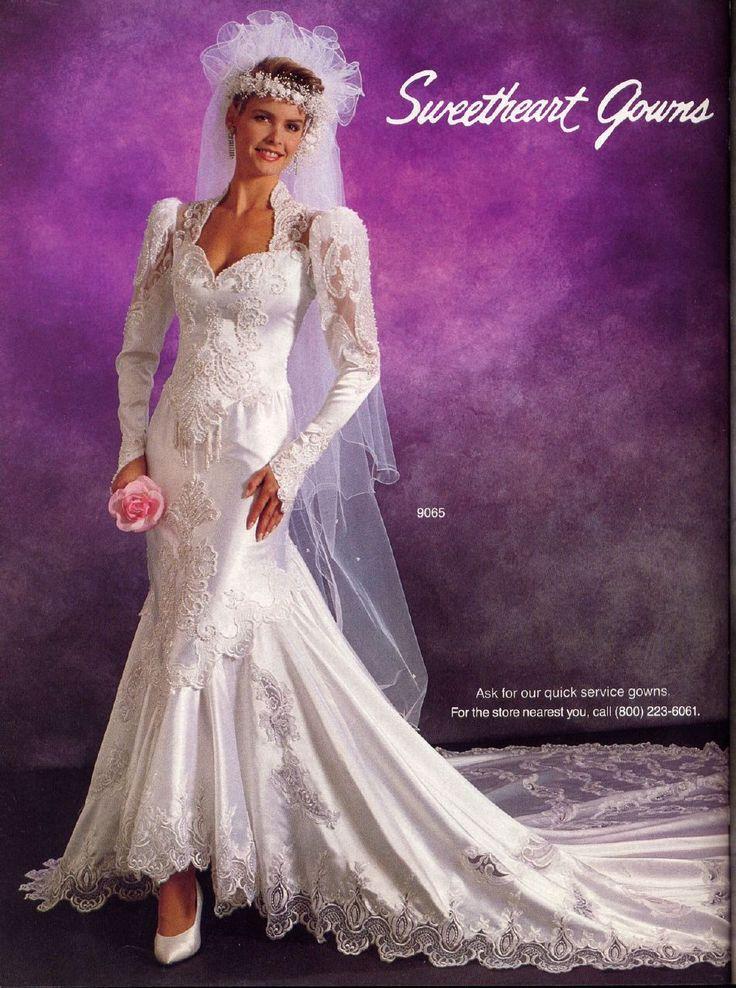The 64 best 80\'s WEDDING DRESSES images on Pinterest | Bridal ...