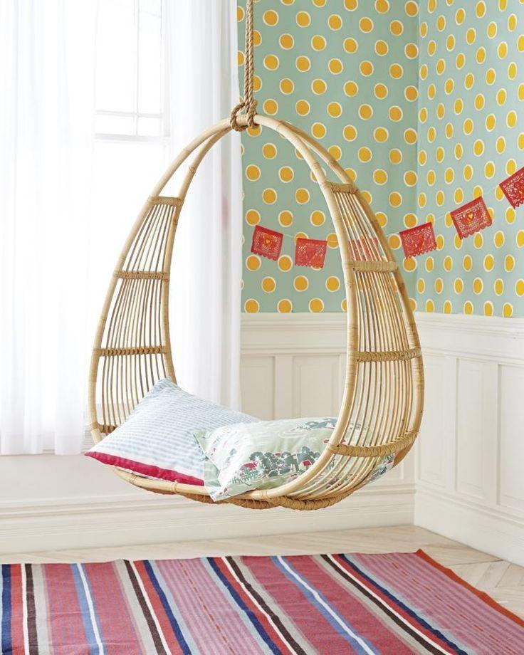 attraktives Mobiliar für Kinderzimmer - Hängesessel oder Schaukelstuhl