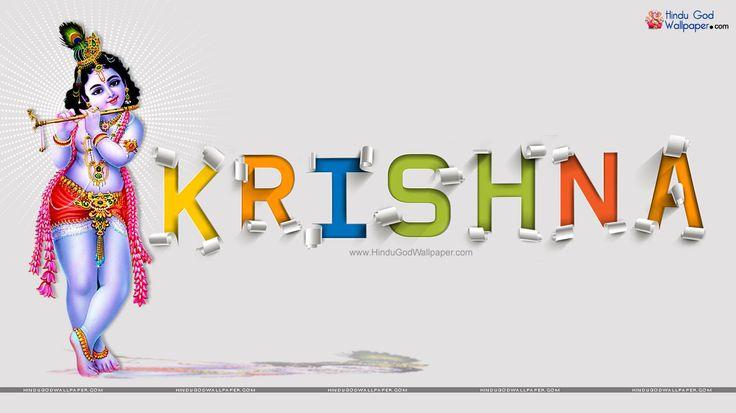 Krishna Name Wallpapers   3D Name Free Download
