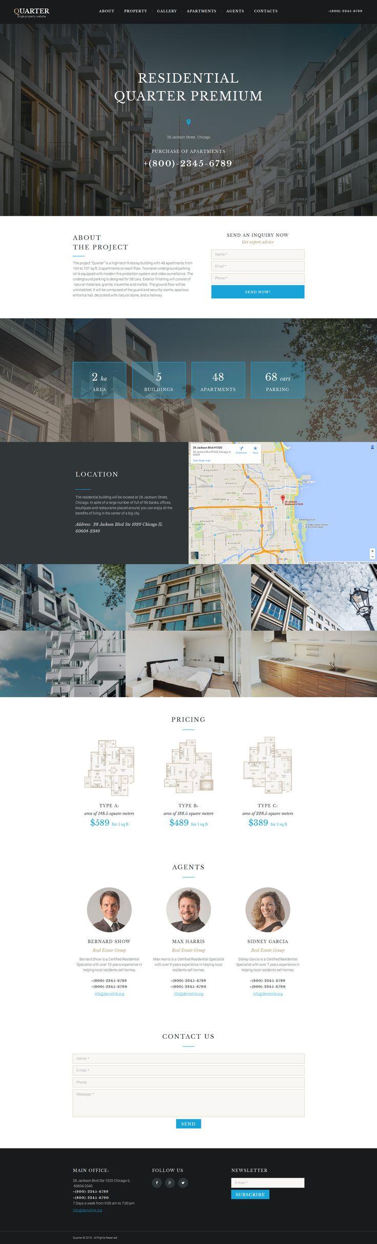 192 best Web Design - Real Estate images on Pinterest | Website ...