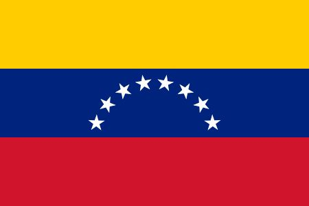 Free Venezuela flag graphics, vectors, and printable PDF files. Get the free downloads at http://flaglane.com/download/venezuelan-flag/