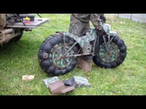 This Crazy Russian Motorcycle Can Do Pretty Much Anything