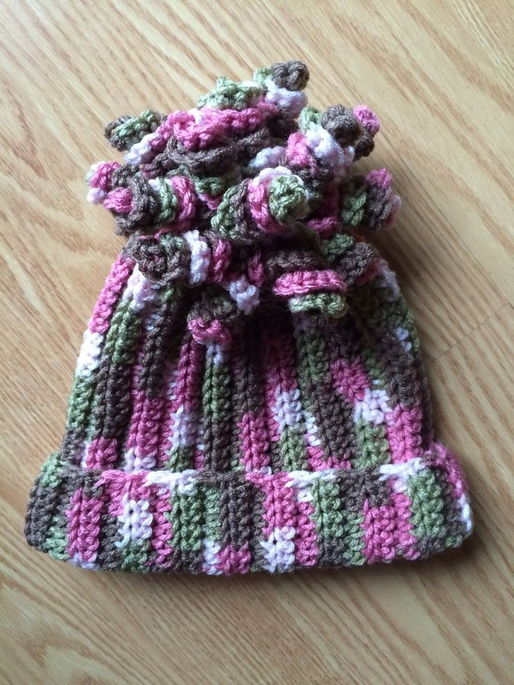 Ravelry: Delaney Hat (spiral beanie) by Danyel Pink