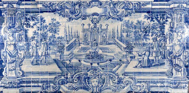 Rio de Janeiro | Igreja de / Church of Nossa Senhora da Glória do Outeiro | sacristia / sacristy #Azulejo #AzulEBranco #BlueAndWhite #Barroco #Baroque #Brasil #Brazil