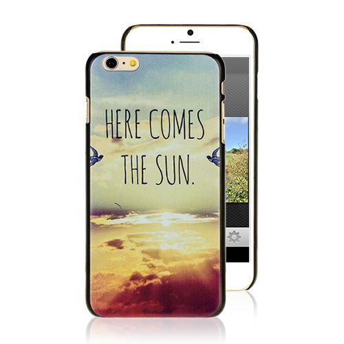 Here comes the sun iPhone 6 Case #iphone6case #quotescase #iphonecover #newiphone #accessories #popular #suncase #cellz