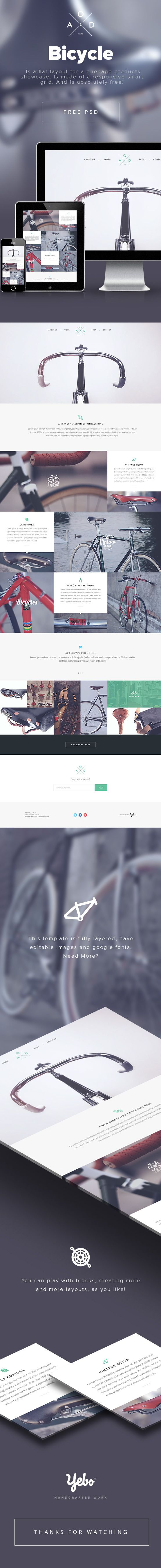 Bicycle Free PSD by Yebo