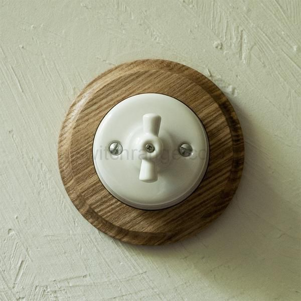 #wooden pattress #light switch #american #walnut #mahogany  #ash #wood #ceramic #porcelain #woodwork #ornament #wall switch #switch #vintage #retro #artdeco #scandinavian #antique #period