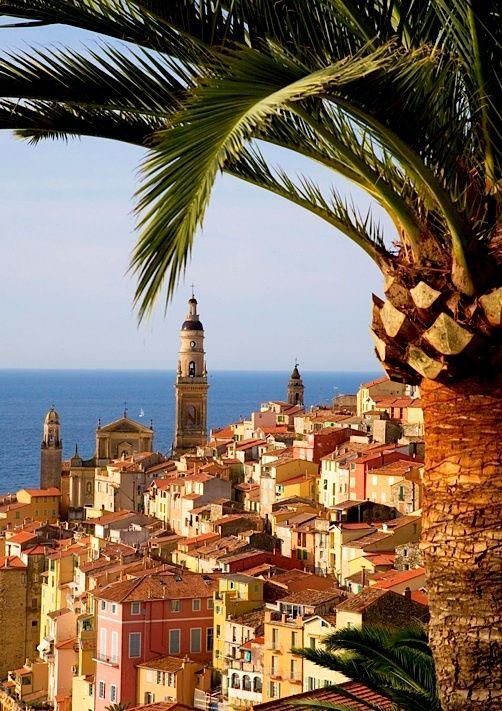 Menton, French Riviera, France  #holiday