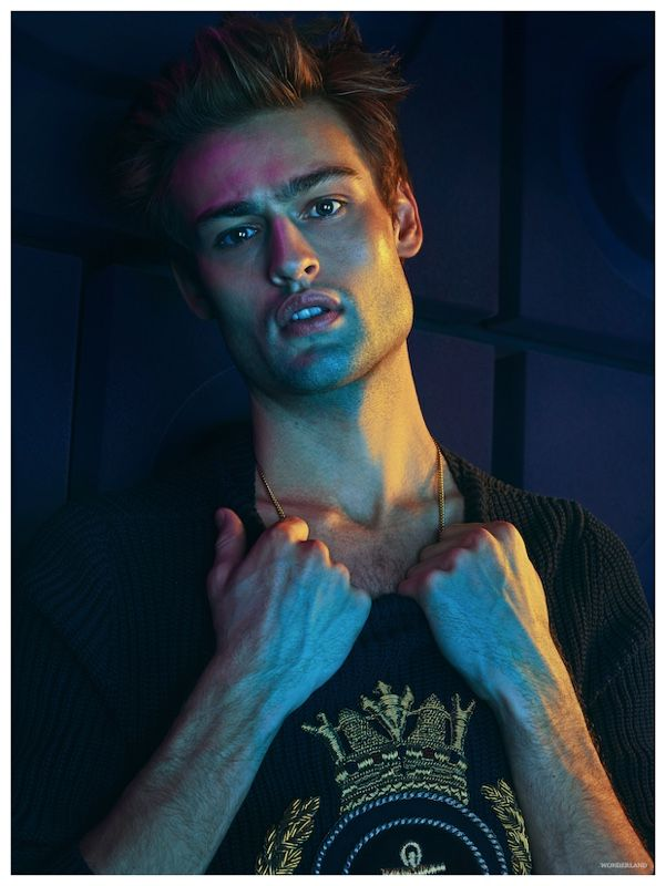 Douglas Booth Covers Wonderland February/March 2015 Issue, Talks British Fashion + Jupiter Ascending Orgy