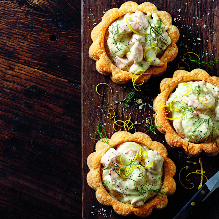 Seafood Vol-Au-Vents will give your Easter a French twist.