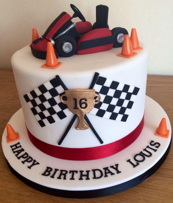 Go kart cake www.wewantcake.co.uk