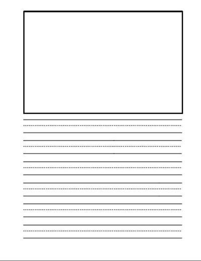 free teaching resources primary graphic paper for writing - 400×520