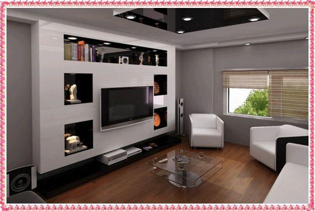Drywall Tv Unit Ideas 2016 Gypsum Wall Unit Designs Jpg