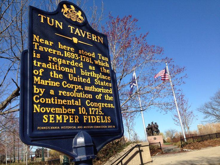 Tun Tavern - Birthplace of the U.S. Marine Corps in ...