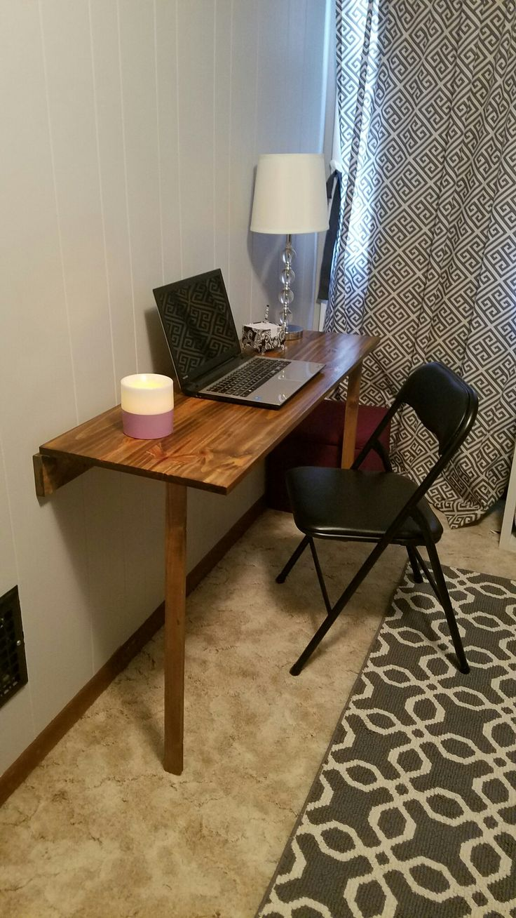 25 best ideas about fold down desk on pinterest fold for Fold down desk table