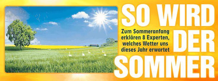 Sommeranfang: Experten erklären Wetteraussichten http://www.bild.de/news/inland/sommer/kriegen-wir-endlich-wieder-richtig-sommer-41441304.bild.html