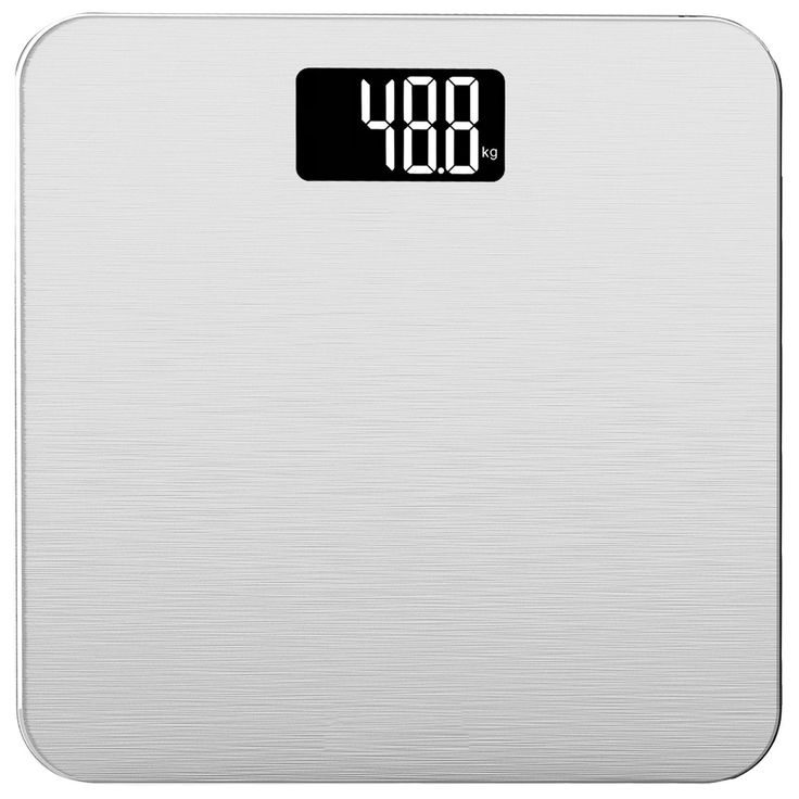 Smart Weigh / Electronic Bathroom Scale With Tempered Glass Balance  Platform And Advanced Step On Technology, Digital Weight Scale Has Large  Easy Read ...