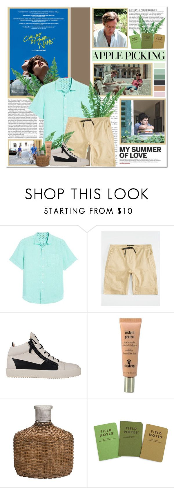 """""""Call Me by Your Name"""" by afik ❤ liked on Polyvore featuring Anja, Tommy Bahama, Brooklyn Cloth, Sisley, John Varvatos, men's fashion and menswear"""