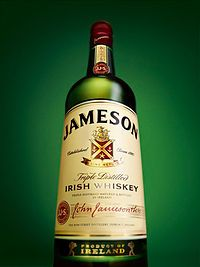 Jameson Irish Whiskey. For the Catholics.