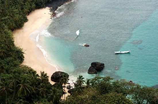 Sao Tome and Principe: Beautiful Banana Beach - Photo by Africa's Eden