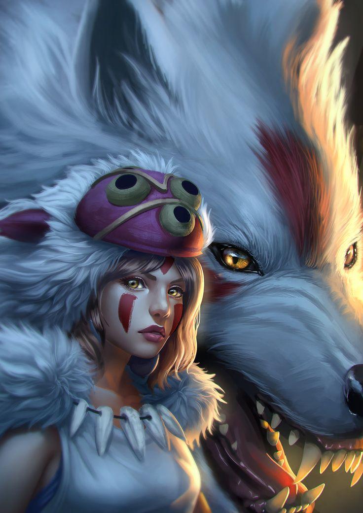 Princess mononoke2 by Zamberz on DeviantArt