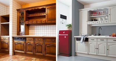 Relooking cuisine facile : repeindre les meubles, crédences, sol, électroménager... - CôtéMaison.fr