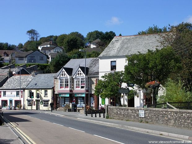 Camelford Cornwall The Town Is Situated On Banks Of River Camel And