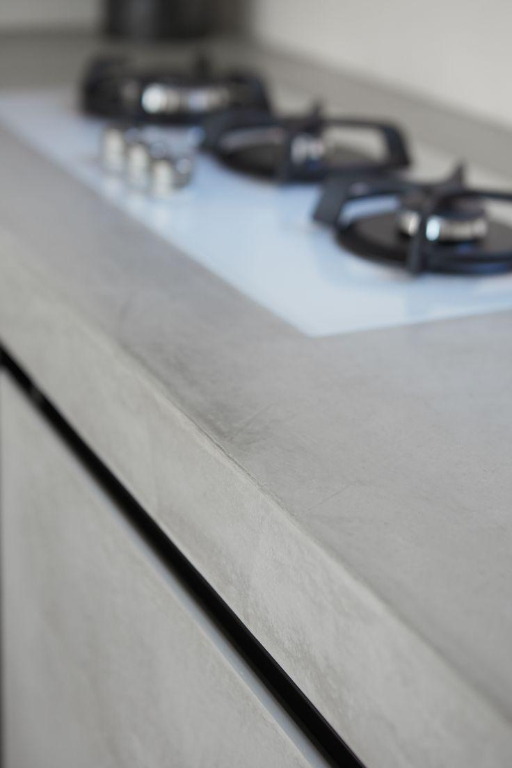 Design interior #Microtopping - #bucatarii www.concreteart.ro