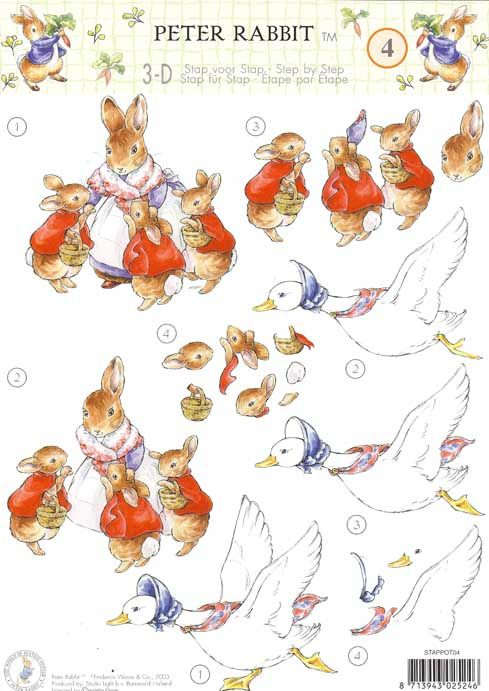 Alice In Wonderland Free 3d Decoupage Google Search