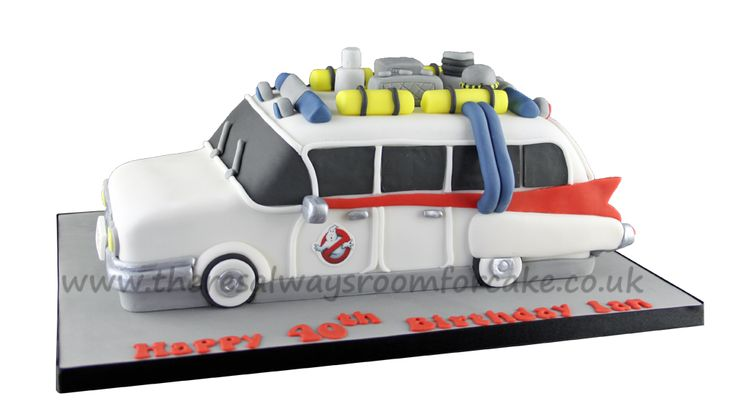 Ghostbusters Car Cake                                                       …