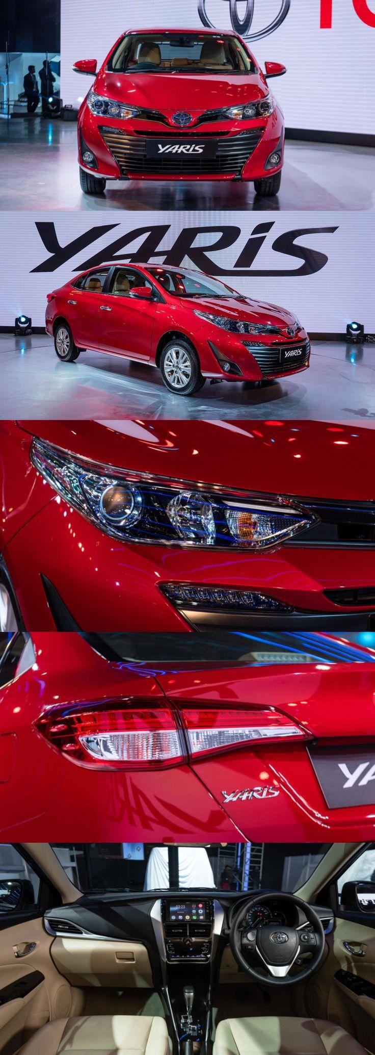 Toyota Yaris Sedan To Launch On 24 April 2018 In India