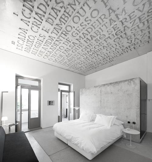 casa de conto. house of tales.  a good ceiling idea to 'steal'