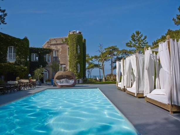 Domaine St Clair Le Donjon Hotel Etretat Vue Mer Officiel Etretat Etretat France Hotel Etretat