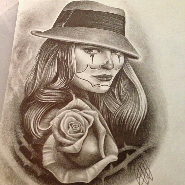 Arte Design In Los Angeles Images: 108 Best Images About Cholo & Chola Style. On Pinterest