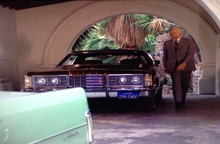 "New Ford Torino >> Buddy Ebsen and his 1973 Ford LTD Brougham 2 door. ""Barnaby Jones"", season 1.   Cars in film ..."