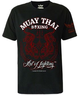 Art of Fighting Muay Thai | Muay Thai T-shirts  $19.99 - European sizes M, L, XL, 2XL