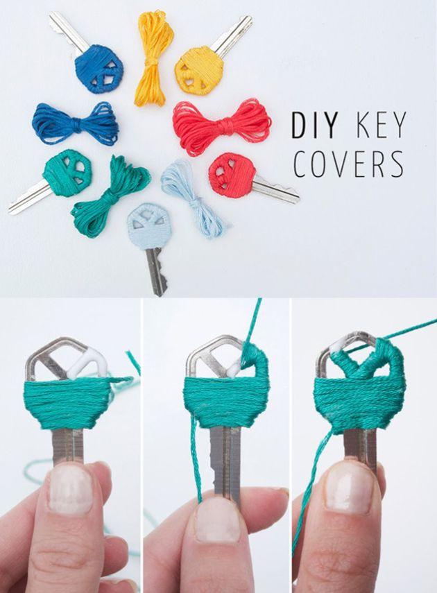 Originales llaves de colores - Muy Ingenioso