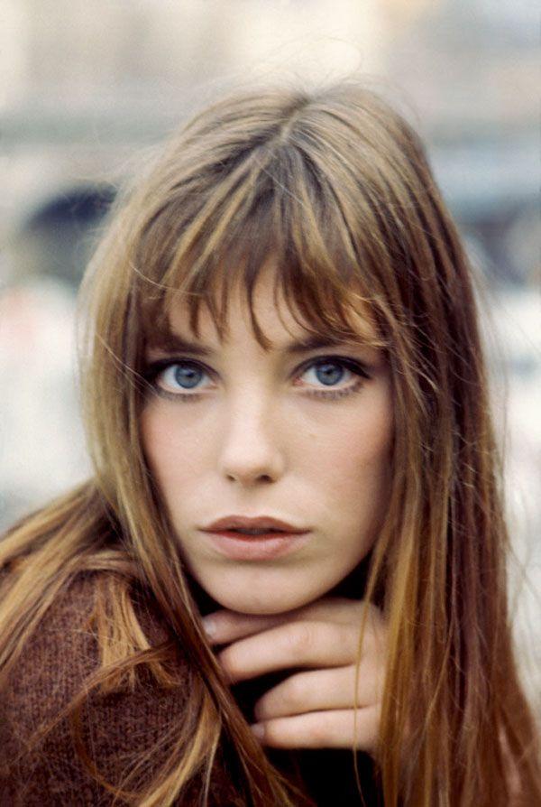 Jane Birkin bangs~