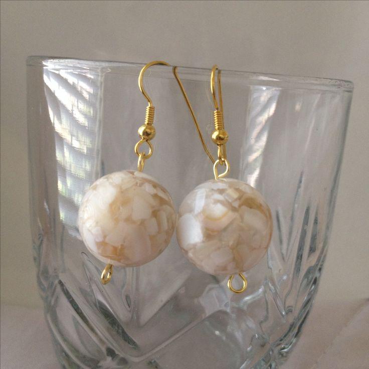 Cindy Marble glass bead #jewelry