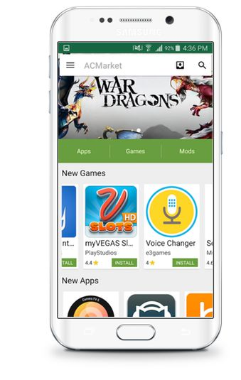 ACMarket - Cracked Google Play Store & Android Apps download