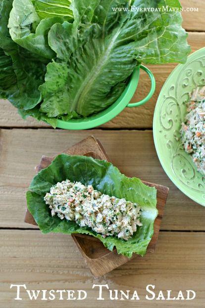 Twisted Tuna Salad aka The BEST Tuna Salad Ever!