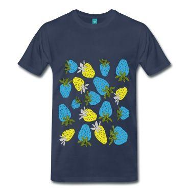 blaue erdbeeren,blue strawberries T-Shirt   Spreadshirt  