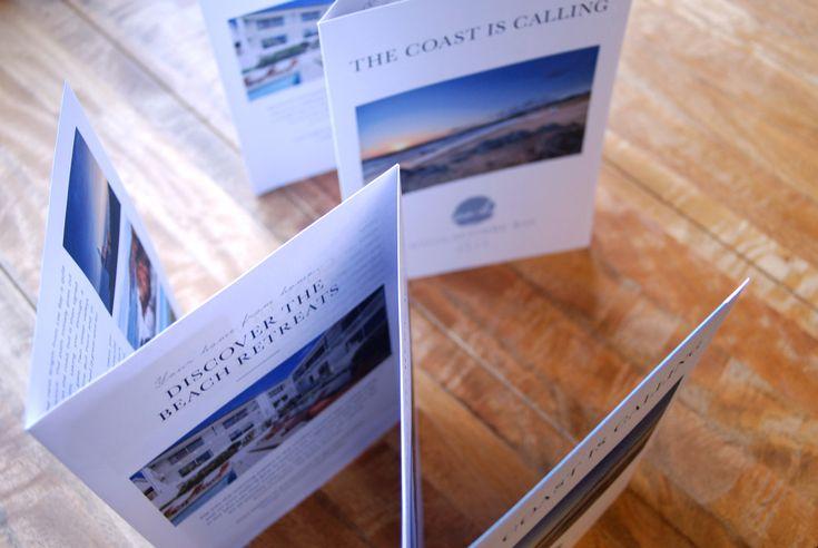 Woolacombe Bay Mailer  #woolacombebay #hotel #woolacombe #northdevon #mailer #concertinafold #leaflet #directmail