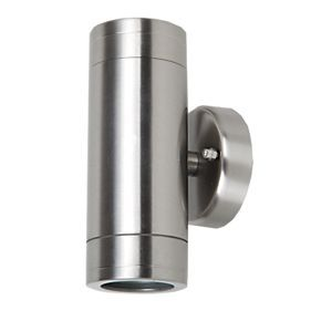 Stainless Steel Up Down Wall Light £10.79