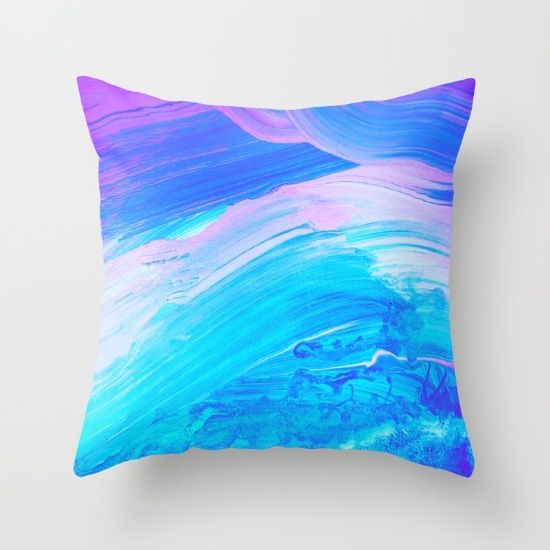 Buy Mother of pearl Throw Pillow by Jazzyinked at Society6