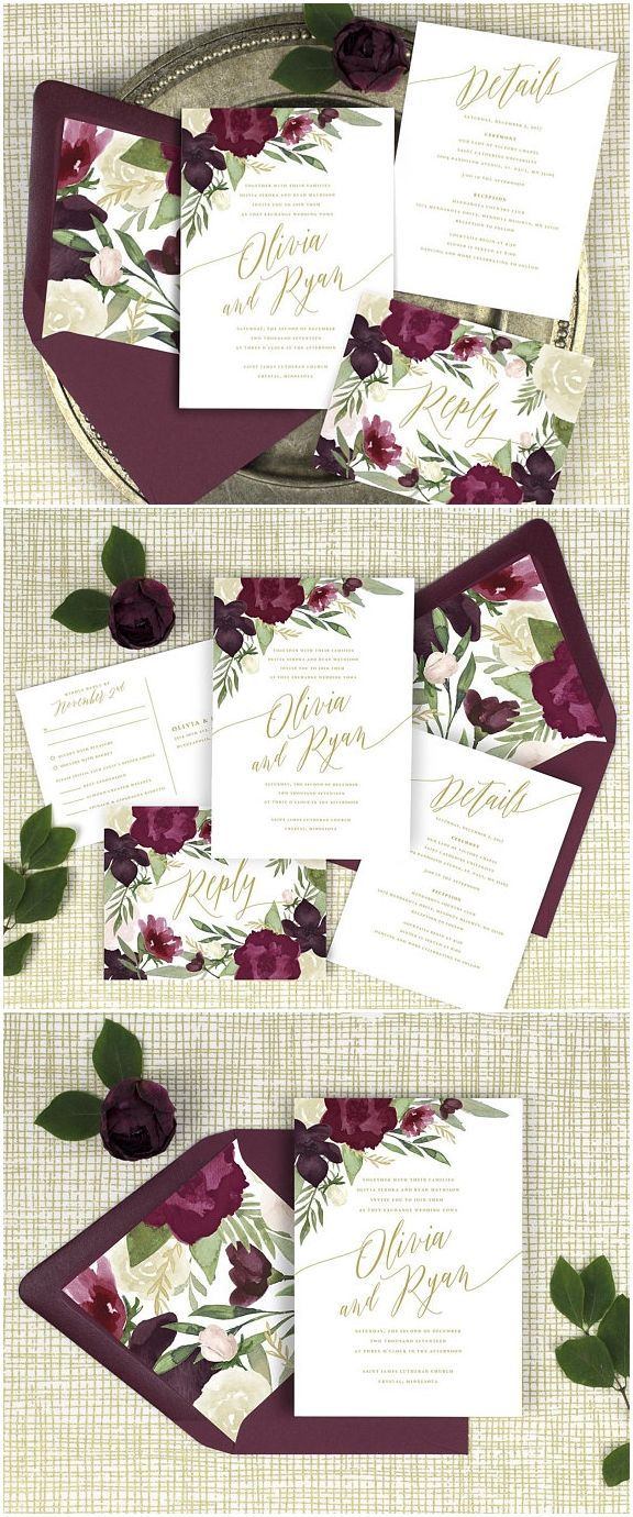 Best 25 gold wedding invitations ideas on pinterest for Rose gold winter wedding invitations